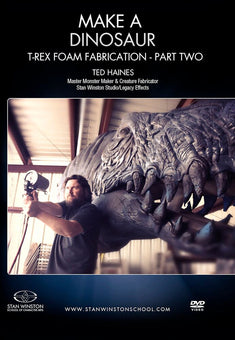 alt Stan Winston Studios | Make a Dinosaur - T-Rex Foam Fabrication Part 2