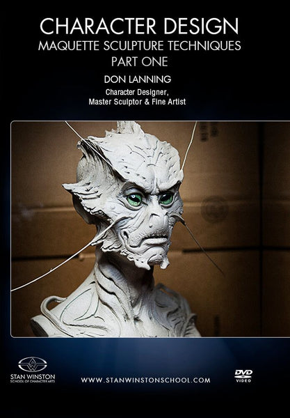 alt Stan Winston Studios | Character Design - Maquette Sculpture Techniques Part 1
