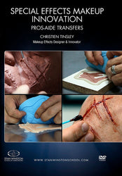 alt Special Effects Makeup Innovation - Pros-Aide Transfers