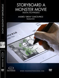 alt Storyboard A Monster Movie - Digital Techniques