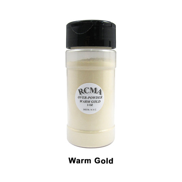 RCMA Over-Powder - Warm Gold | Camera Ready Cosmetics - 4