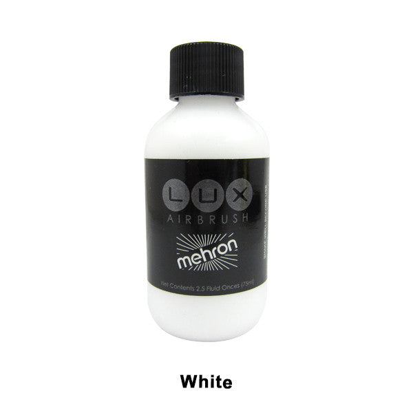 Mehron LUX Airbrush Makeup  2.5fl.oz. / 75ml. - White (211-W) | Camera Ready Cosmetics - 19