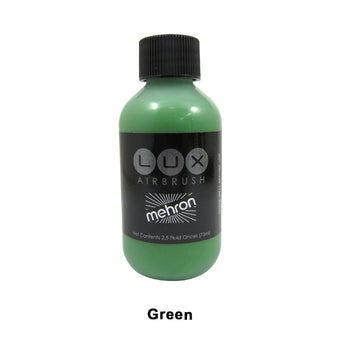Mehron LUX Airbrush Makeup  2.5fl.oz. / 75ml. - Green (211-G) | Camera Ready Cosmetics - 13