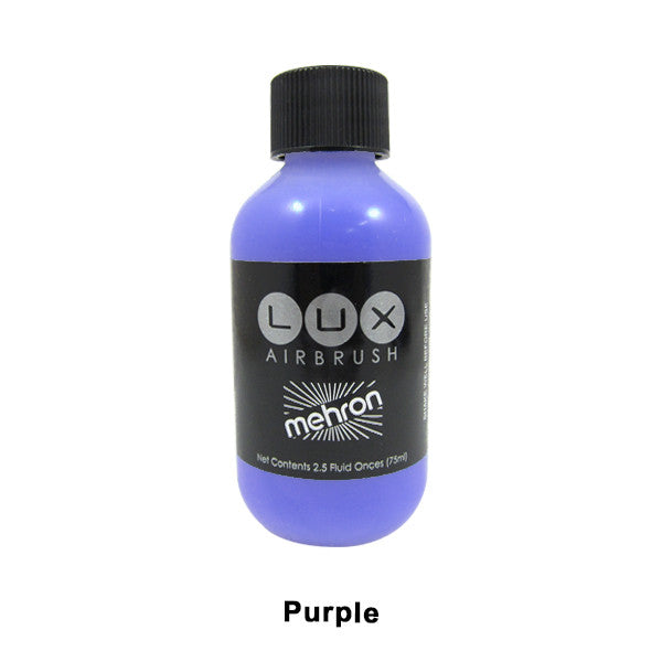 Mehron LUX Airbrush Makeup  2.5fl.oz. / 75ml. - Purple (211-P) | Camera Ready Cosmetics - 15