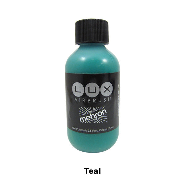 Mehron LUX Airbrush Makeup  2.5fl.oz. / 75ml. - Teal (211-T) | Camera Ready Cosmetics - 18