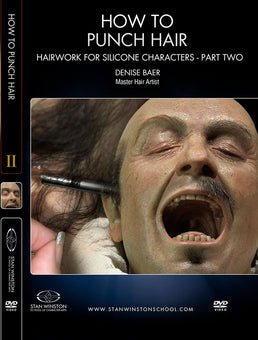 alt Stan Winston Studios | How To Punch Hair Part 2