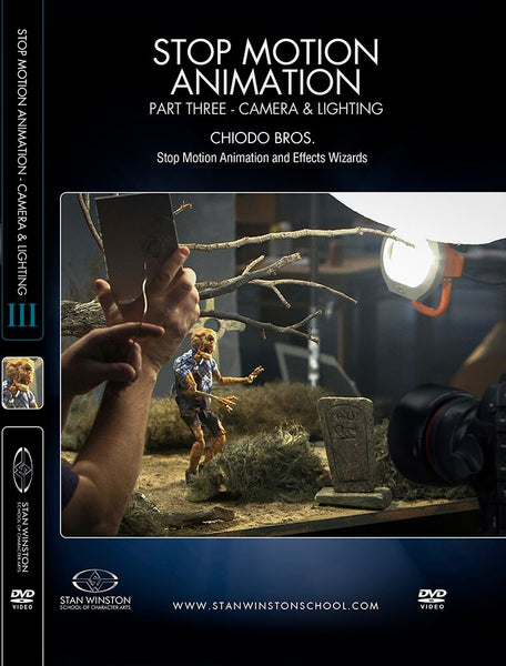alt Stan Winston Studios | Stop Motion Animation Part 3 - Camera, Lighting & Software