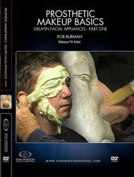 alt Prosthetic Makeup Basics - Gelatin Facial Appliances Part 1