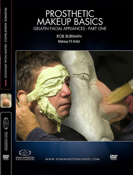 alt Stan Winston Studios | Prosthetic Makeup Basics - Gelatin Facial Appliances Part 1