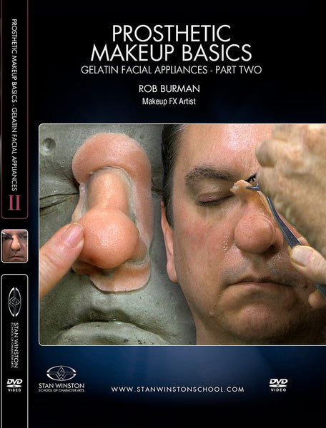 alt Stan Winston Studios | Prosthetic Makeup Basics - Gelatin Facial Appliances Part 2