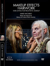 alt Character Hairwork - Hair Laying for Prosthetic Makeup