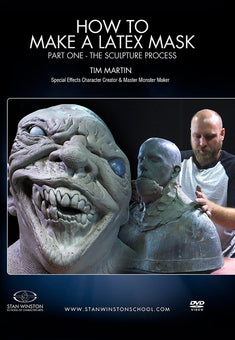 alt Stan Winston Studios | How to Make a Latex Rubber Mask Part 1
