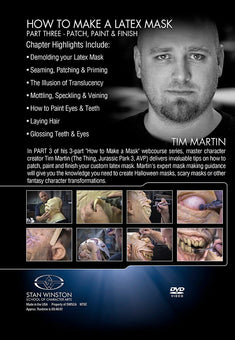 alt Stan Winston Studios | How to Make a Latex Rubber Mask