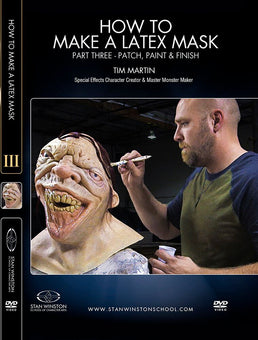 alt Stan Winston Studios | How to Make a Latex Rubber Mask Part 3