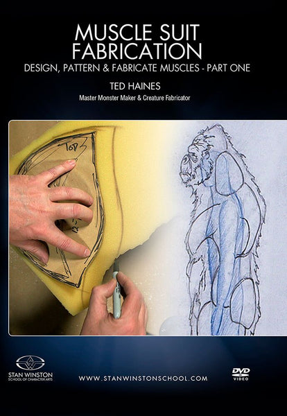 alt Stan Winston Studios | Muscle Suit Fabrication Part 1 - Design, Pattern & Fabricate Muscles