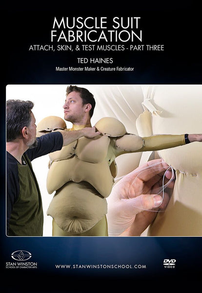 alt Stan Winston Studios | Muscle Suit Fabrication Part 3 - Attach, Skin, & Test Muscles