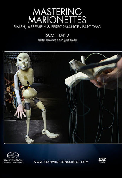 alt Stan Winston Studios | Mastering Marionettes Part 2 - Finish, Assembly & Performance