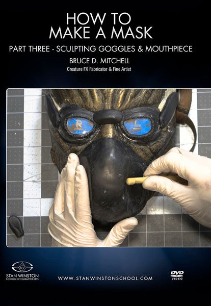 alt Stan Winston Studios | How To Make A Mask Part 3