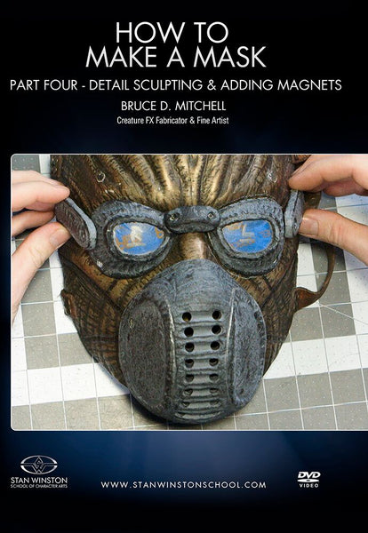 alt Stan Winston Studios | How To Make A Mask Part 4