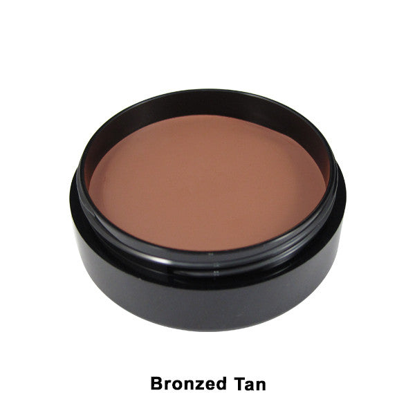 Mehron Mask Cover - Bronzed Tan (102M-TV10) | Camera Ready Cosmetics - 5