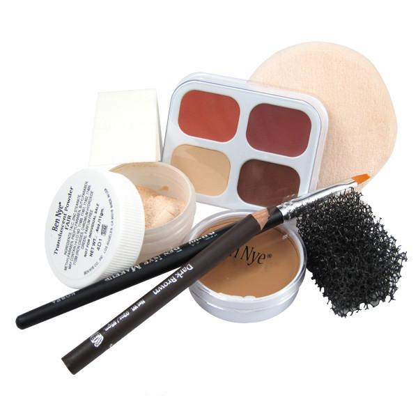 Ben Nye Personal Creme Kit - PK-3 Olive (Medium) | Camera Ready Cosmetics - 5