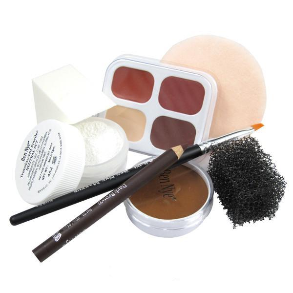 Ben Nye Personal Creme Kit - PK-4 Olive (Deep) | Camera Ready Cosmetics - 6