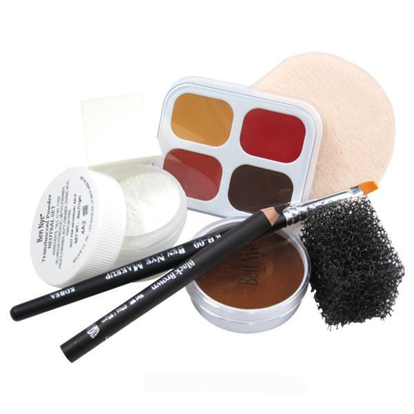 Ben Nye Personal Creme Kit - PK-5 Brown (Medium) | Camera Ready Cosmetics - 8