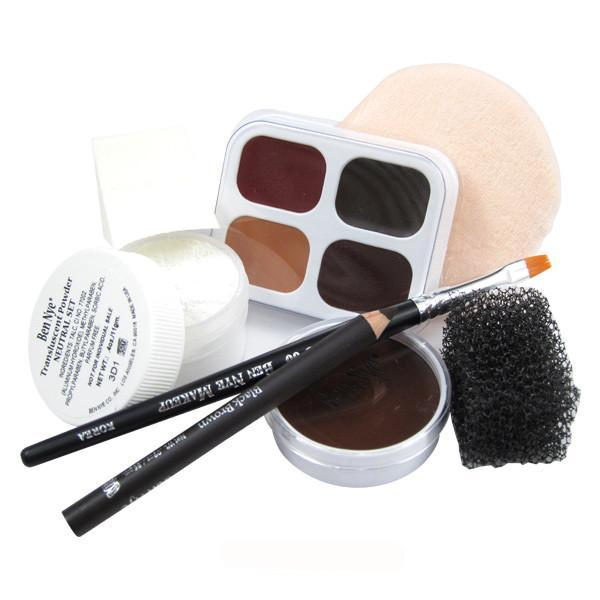 Ben Nye Personal Creme Kit - PK-6 Brown (Dark) | Camera Ready Cosmetics - 9