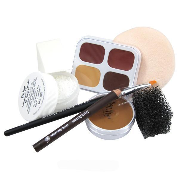Ben Nye Personal Creme Kit - PK-45 Brown (Light) | Camera Ready Cosmetics - 7