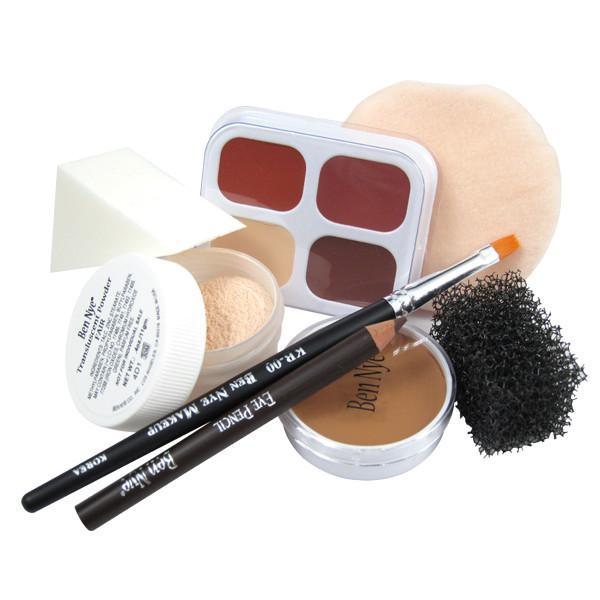 Ben Nye Personal Creme Kit - PK-2 Fair (Medium/Tan) | Camera Ready Cosmetics - 4