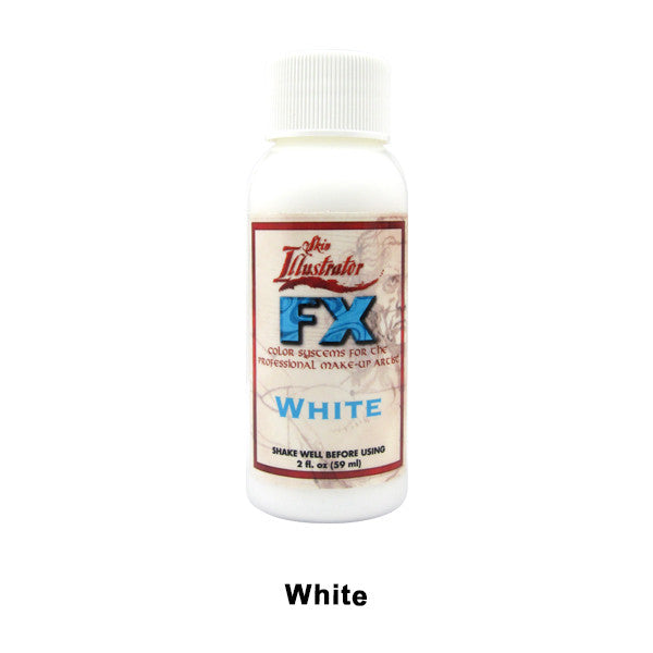 PPI Skin Illustrator - FX Liquid (USA Only) - White | Camera Ready Cosmetics - 11