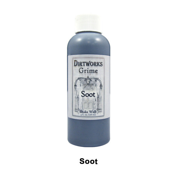 PPI Fleet Street Dirtworks Grime Spray (USA Only) - Soot | Camera Ready Cosmetics - 8
