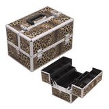 JUST CASE SUNRISE CROCODILE PATTERN CASE SH5004 (USA ONLY) - Leopard SH5004LPBR | Camera Ready Cosmetics - 2