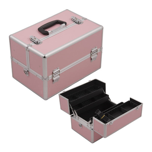 JUST CASE SUNRISE CROCODILE PATTERN CASE SH5004 (USA ONLY) - Pink SH5004PPPK | Camera Ready Cosmetics - 3