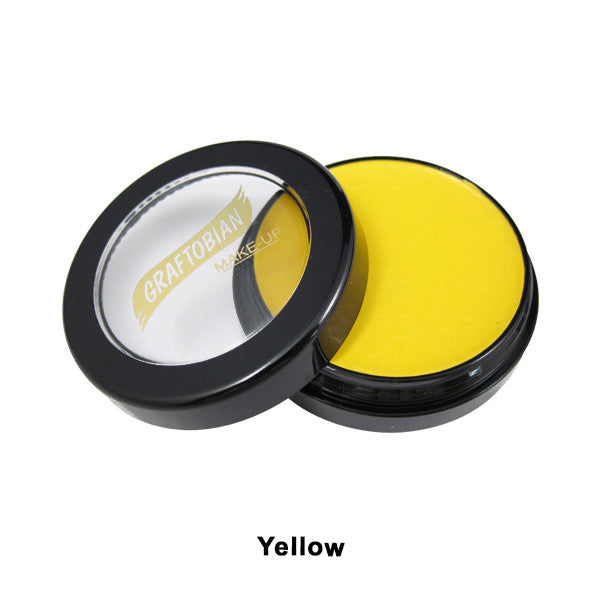 Graftobian Creme Foundation - Theatrical - Yellow 88005 | Camera Ready Cosmetics - 38