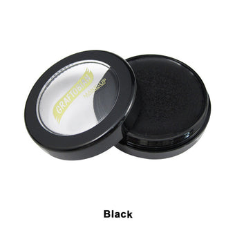 Graftobian Creme Foundation - Theatrical - Black 880012 | Camera Ready Cosmetics - 6