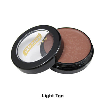 Graftobian Creme Foundation - Theatrical - Light Tan 88063 | Camera Ready Cosmetics - 21