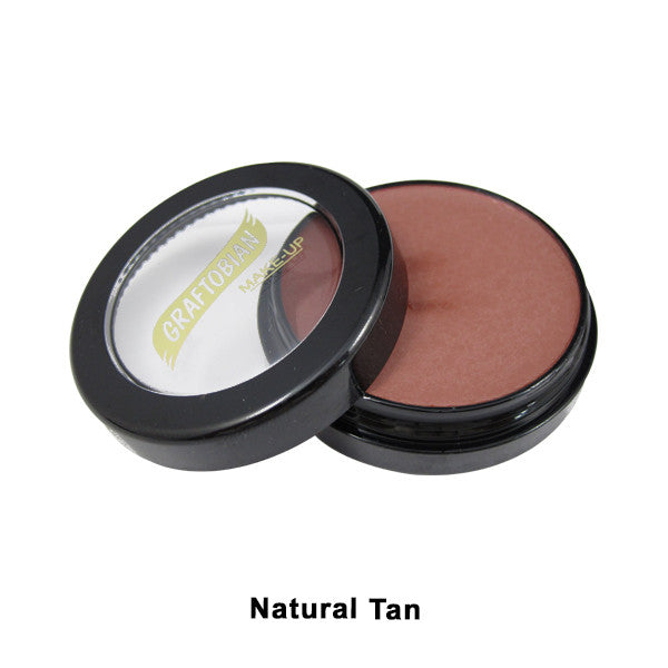 Graftobian Creme Foundation - Theatrical - Natural Tan 88064 | Camera Ready Cosmetics - 25