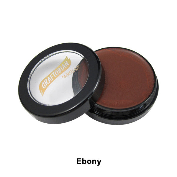 Graftobian Creme Foundation - Theatrical - Ebony 88071 | Camera Ready Cosmetics - 12