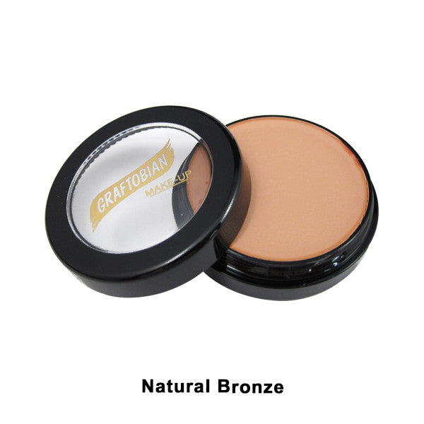 Graftobian Creme Foundation - Theatrical - Natural Bronze 88100 | Camera Ready Cosmetics - 24