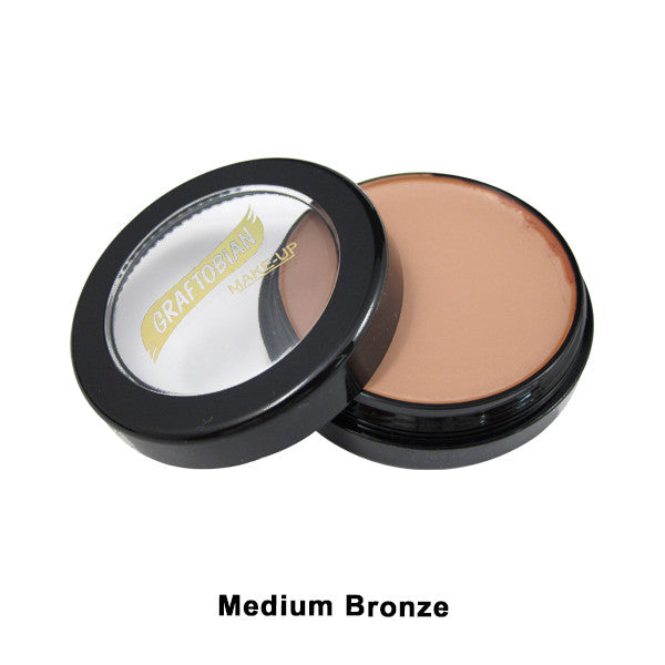 Graftobian Creme Foundation - Theatrical - Medium Bronze 88102 | Camera Ready Cosmetics - 22