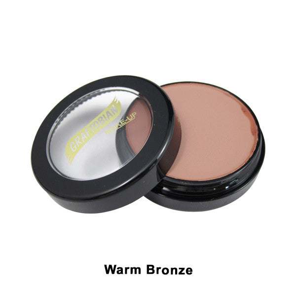 Graftobian Creme Foundation - Theatrical - Warm Bronze 88105 | Camera Ready Cosmetics - 33