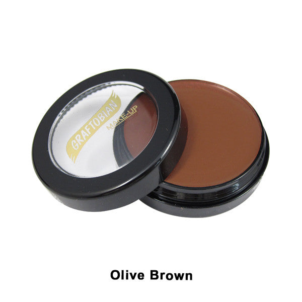 Graftobian Creme Foundation - Theatrical - Olive Brown 88108 | Camera Ready Cosmetics - 27