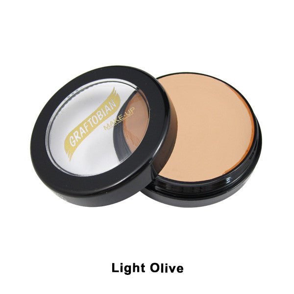 Graftobian Creme Foundation - Theatrical - Light Olive 88115 | Camera Ready Cosmetics - 20