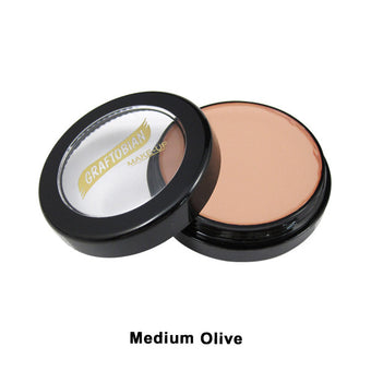 Graftobian Creme Foundation - Theatrical - Medium Olive 88116 | Camera Ready Cosmetics - 23