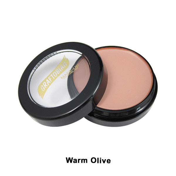 Graftobian Creme Foundation - Theatrical - Warm Olive 88117 | Camera Ready Cosmetics - 35