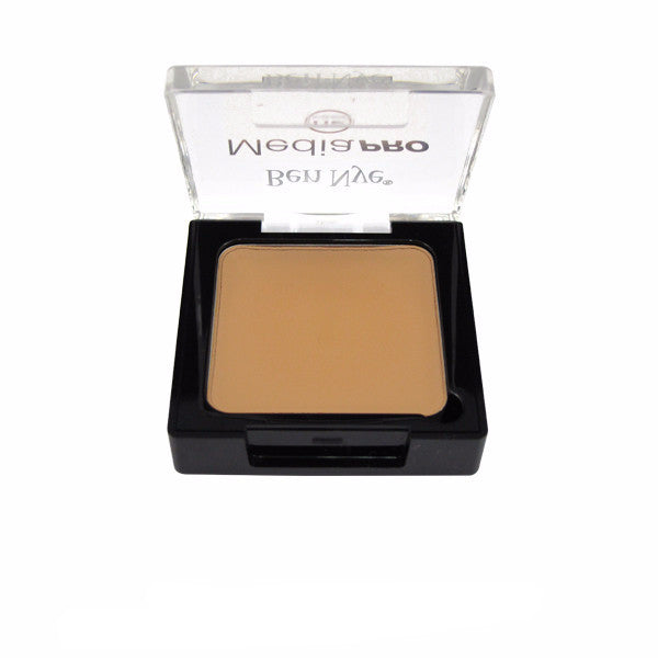 Ben Nye MediaPRO Creme Blush and Contour (Highlight) - Light Caramel (MCH-15) | Camera Ready Cosmetics - 7