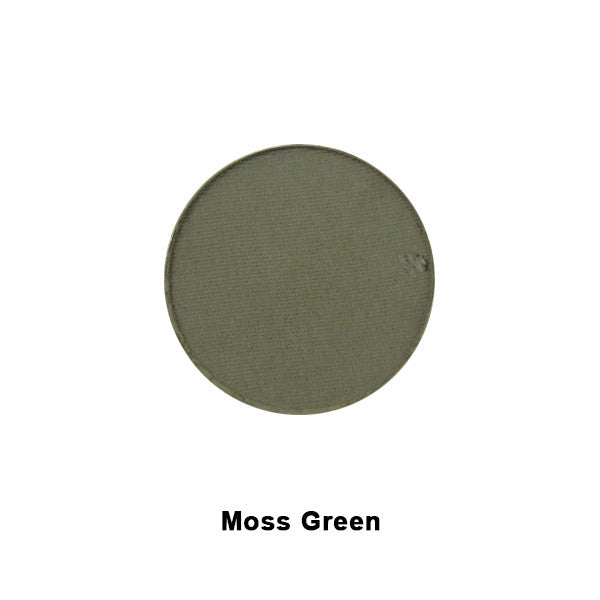 Graftobian Ultrasilk Matte Eye Shadow REFILL - Moss Green (RM30523) LIMITED AVAILABILITY | Camera Ready Cosmetics - 8