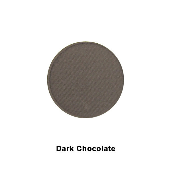 Graftobian Ultrasilk Matte Eye Shadow REFILL - Dark Chocolate (29142) | Camera Ready Cosmetics - 5