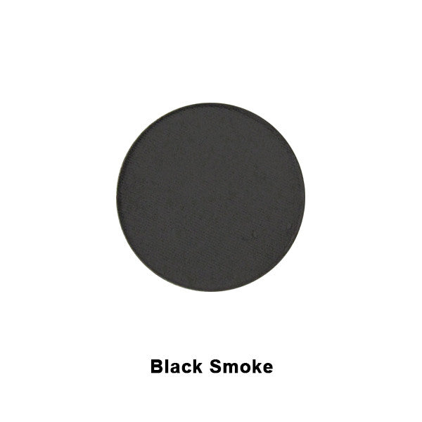 Graftobian Ultrasilk Matte Eye Shadow REFILL - Black Smoke (29133) | Camera Ready Cosmetics - 4